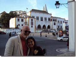 Com Andreia em Sintra