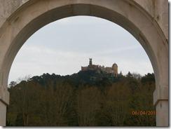 Da janela vendo o castelo