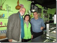 Com a Paulita e o Manuel