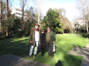 No Jardim CG