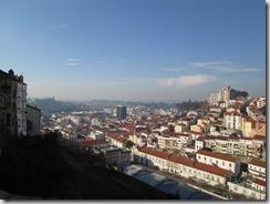 Parte da cidade vista da torre