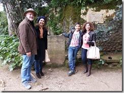 Natália, Ricardo, Regina e eu