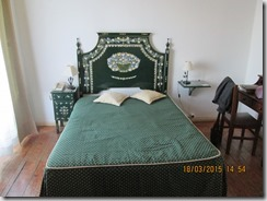 A cama verde