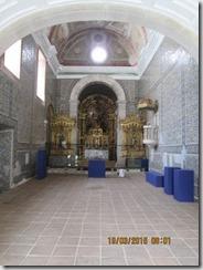 Altar mor igreja do Salvador
