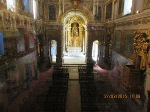 Altar visto do coro