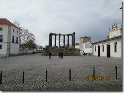 Ruínas do templo de Diana