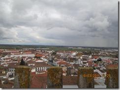 Vista à direita da torre da Sé