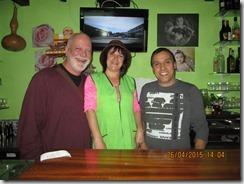Paulita, Manoel e eu